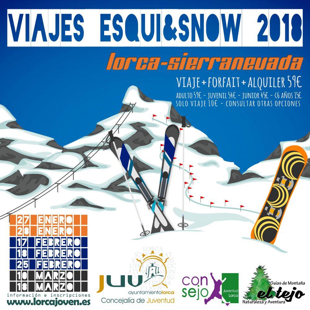VIAJES ESQUÍ&SNOW #JuventudLorca