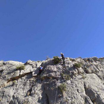 Descubrimiento de la escalada