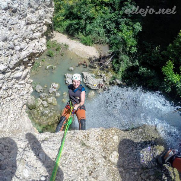Barranquismo - Gorgo de la Escalera